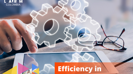 Efficiency in our processes: