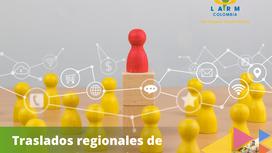 Traslados regionales de personal Extranjero