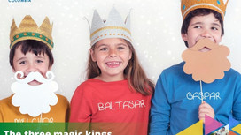 The three kings day celebration