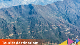 Tourist destination:               Chicamocha Canyon.