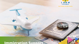 LARM's support in immigration services