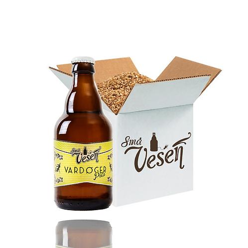 Vardøger Pils 4,7% 25l ølsett