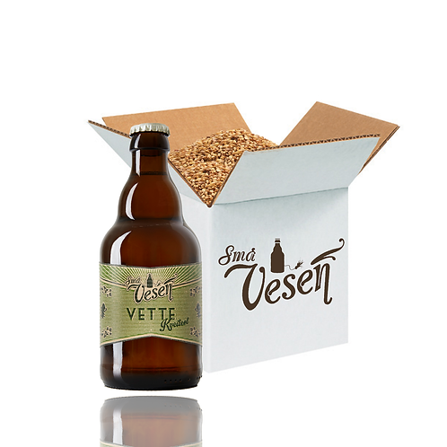 Vette Kveiteøl 4,7% 25l ølsett