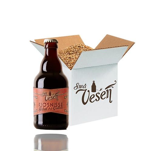 Fjøsnisse juleøl 4,7% 25l ølsett