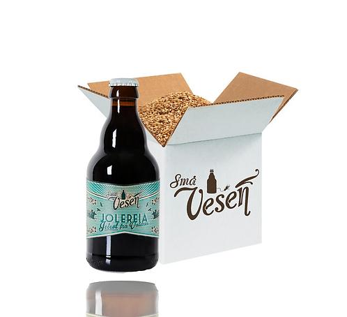 Jolereia sterk juleøl 7,5% 25l ølsett