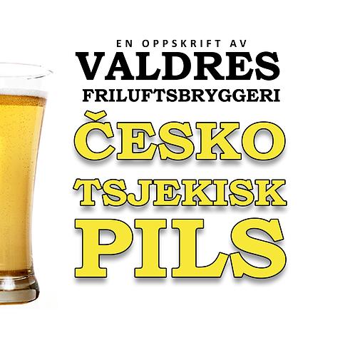 Česko Tsjekkisk pils 5,2% 25l ølsett