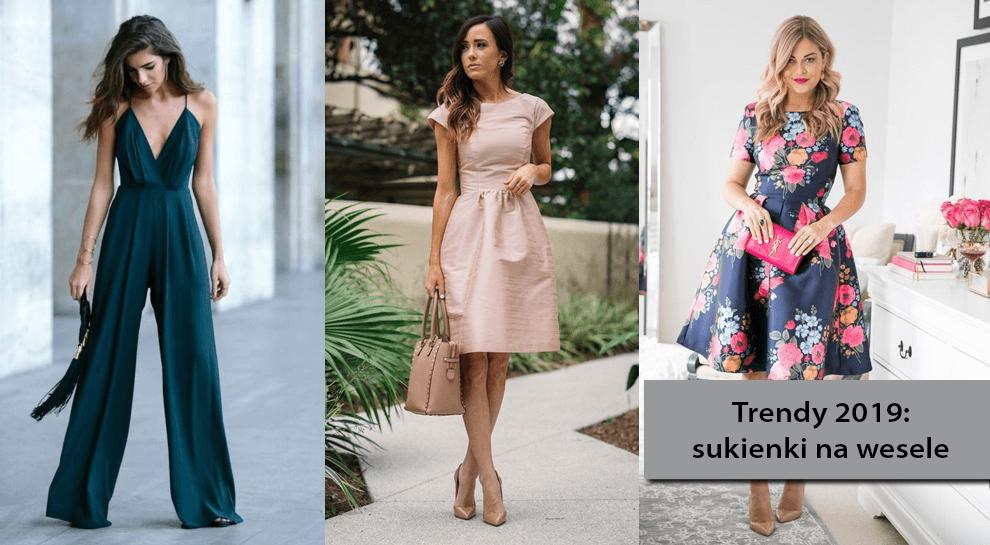 7ccbba77b7 Trendy 2019  sukienki na wesele. W co się ubrać