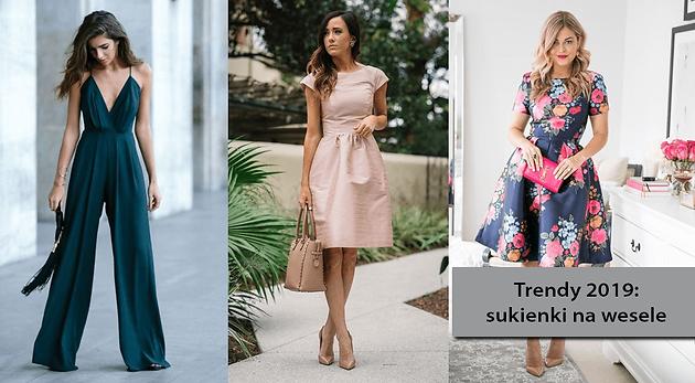 2a25a5b4 Trendy 2019: sukienki na wesele. W co się ubrać, gdy idziemy na ślub