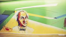 Mural painted for Nestle Brasil, 2019