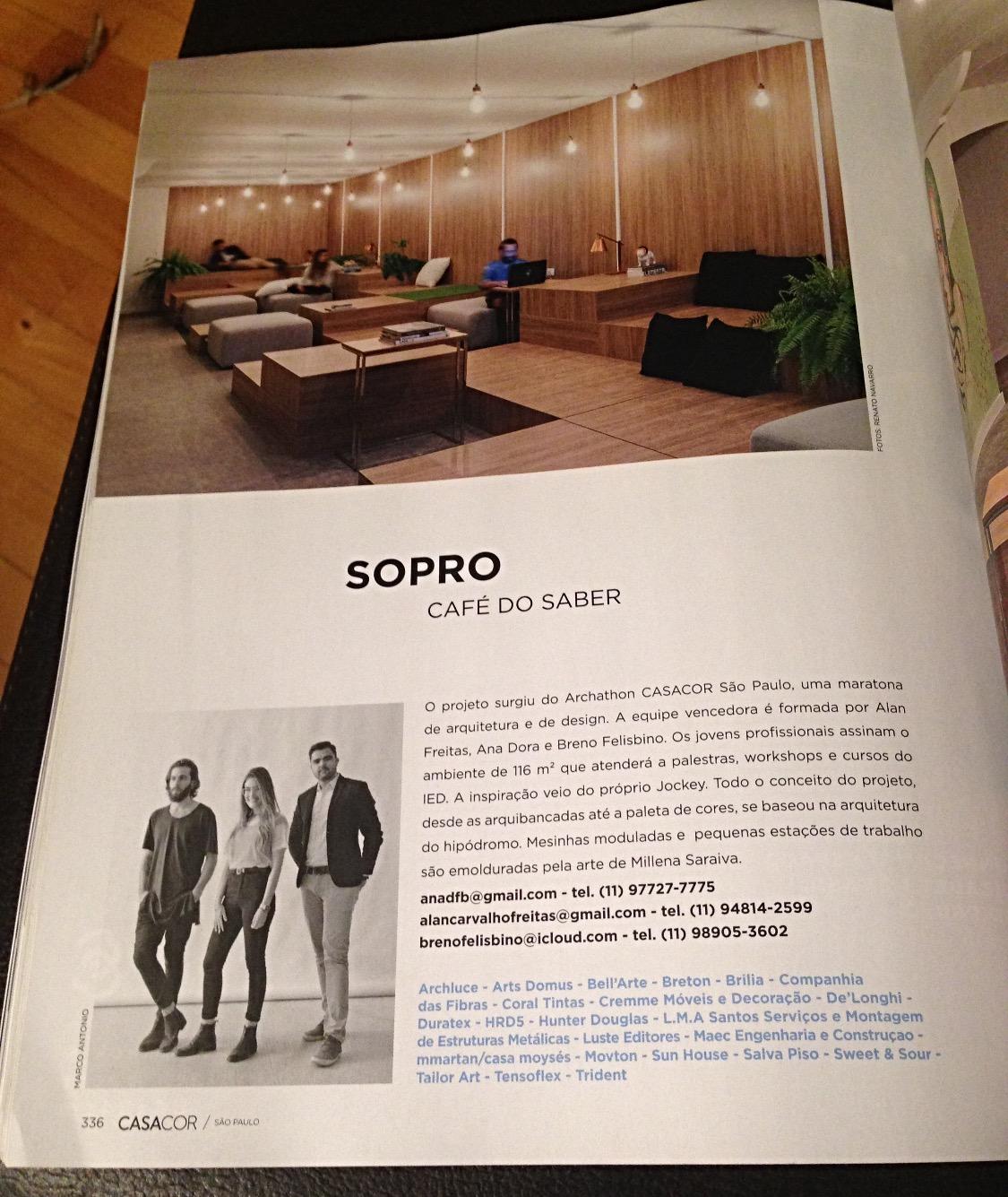 Revista Casa Cor 2017