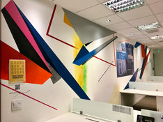 Corporative mural, 2019