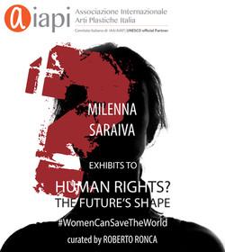 HUMAN RIGHTS? The Future's Shape #WomenCanSaveTheWorld  August, 2020