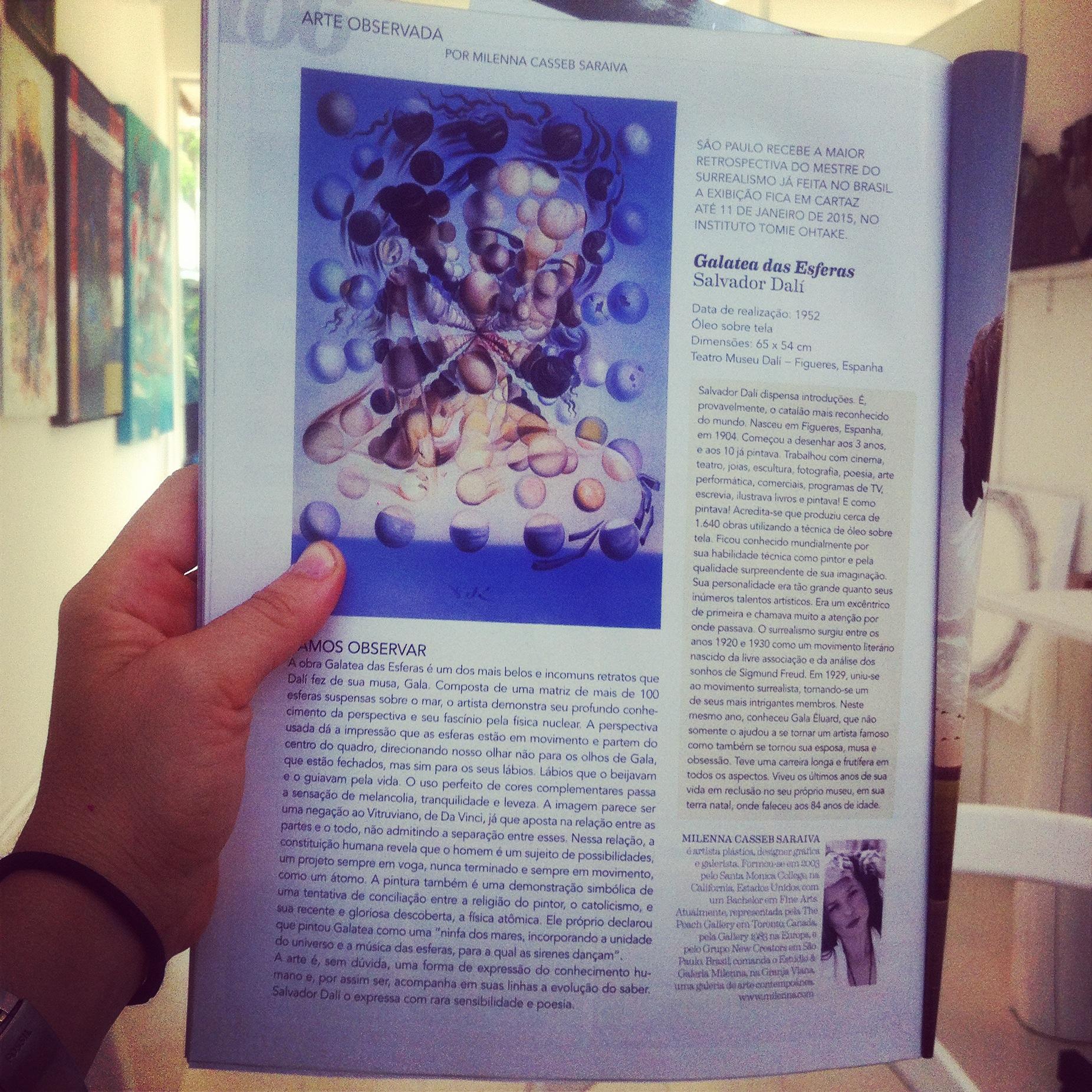 Coluna Arte Observada - 11/2014