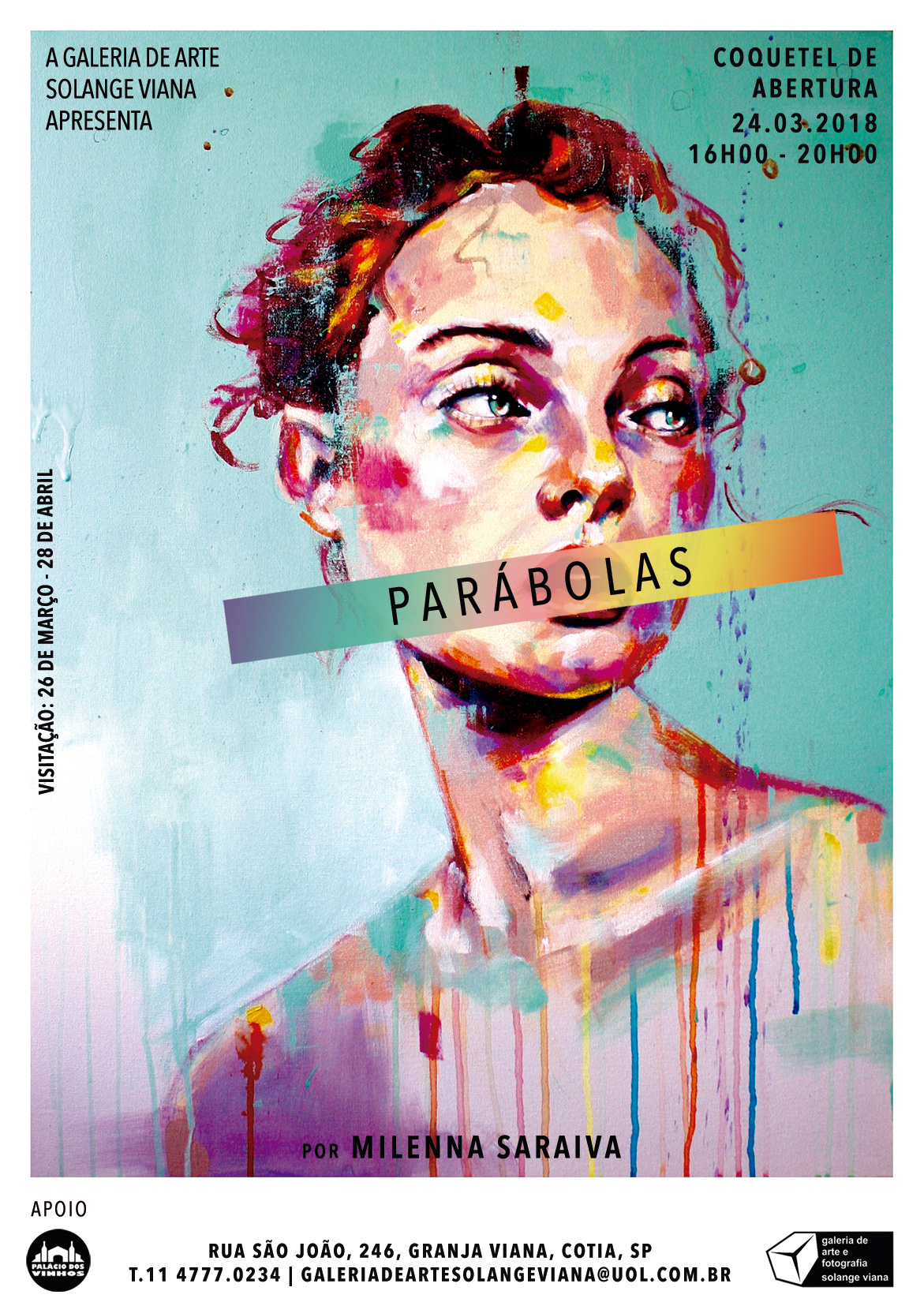 Exposição individual | Parábolas