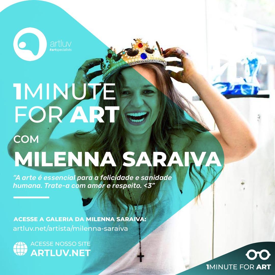 ArtLuv entrevista Milenna Saraiva