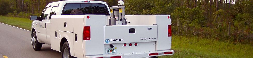 Deflectómetro Montado en Camión (Truck Mounted Deflectometer) | Dynatest