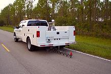 Deflectómetro Montado en Camión  (Truck Mounted Deflectometer)   Dynatest