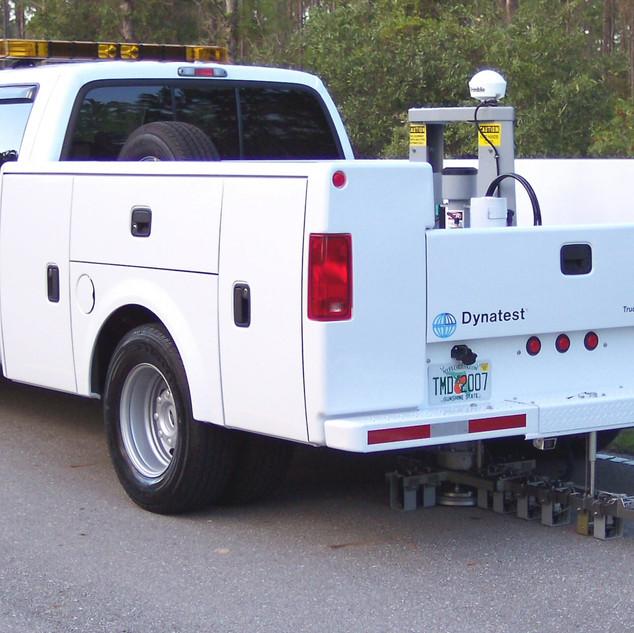 Deflectómetro Montado en Camión TMD