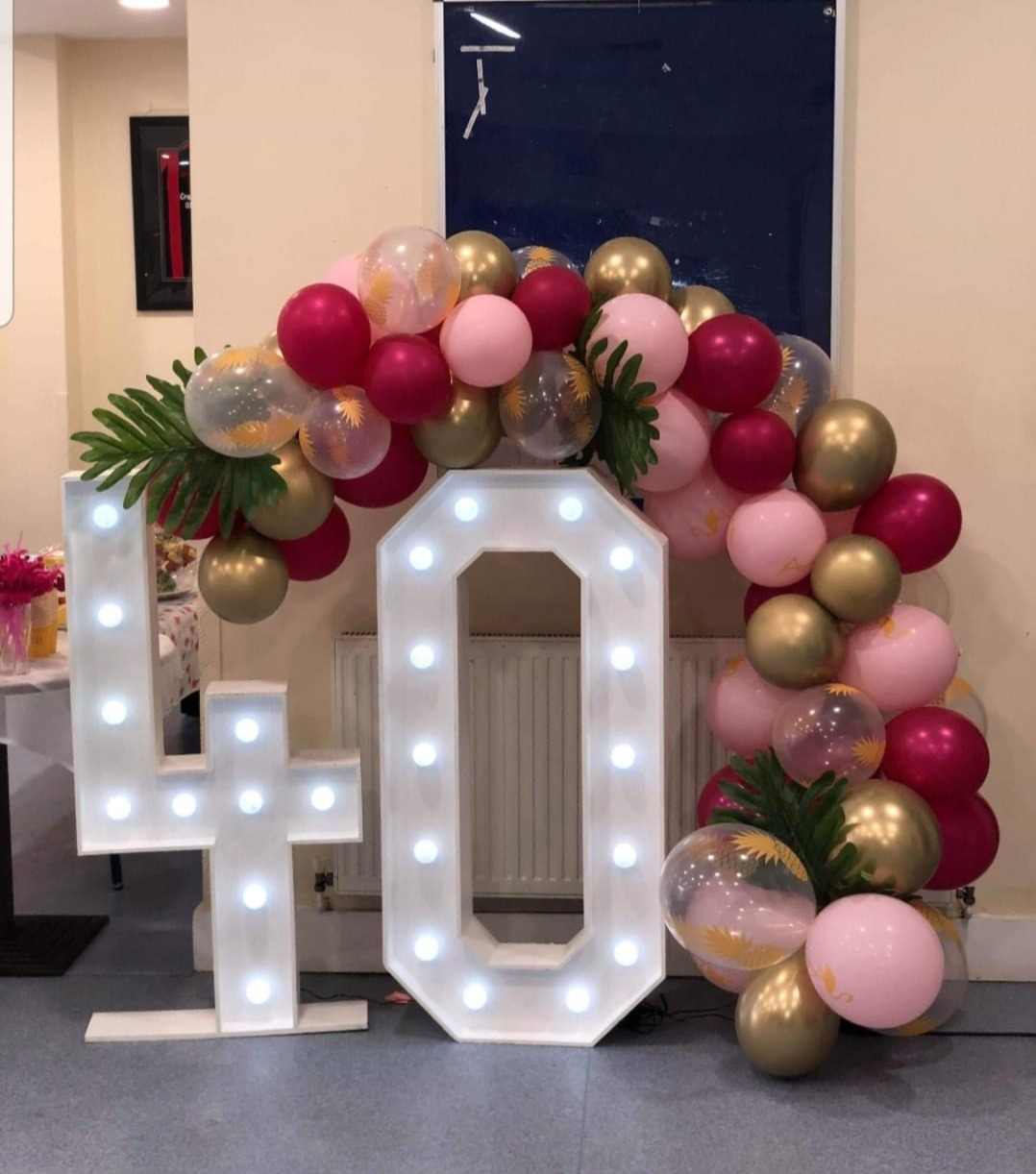 4ft Light-up Numbers