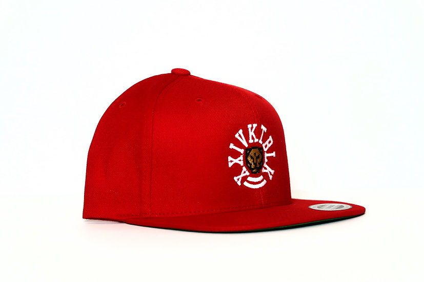 """XXIVKTBLK """"Equality"""" Snapback Hat - Red"""