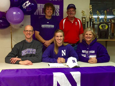Stees Commits to Northwestern