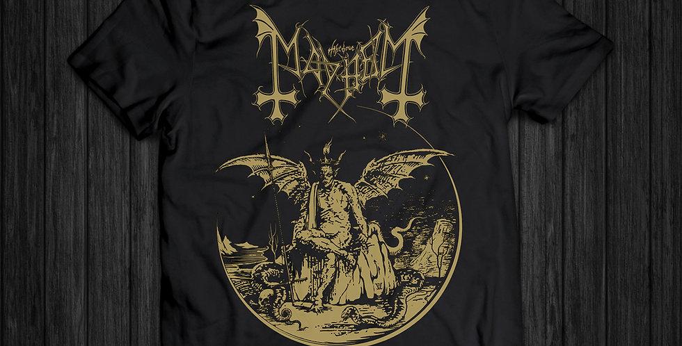 Camiseta Mayhem Daemon