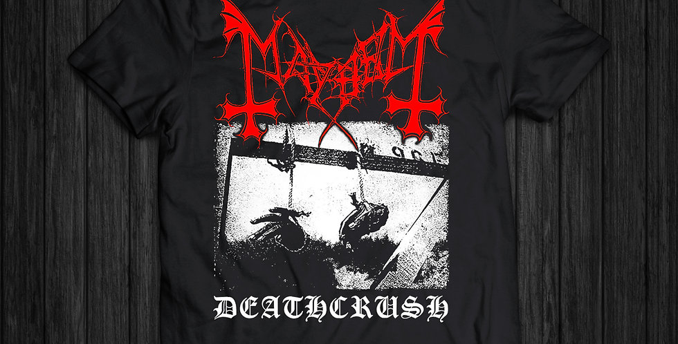 Camiseta Mayhem Deathcrush