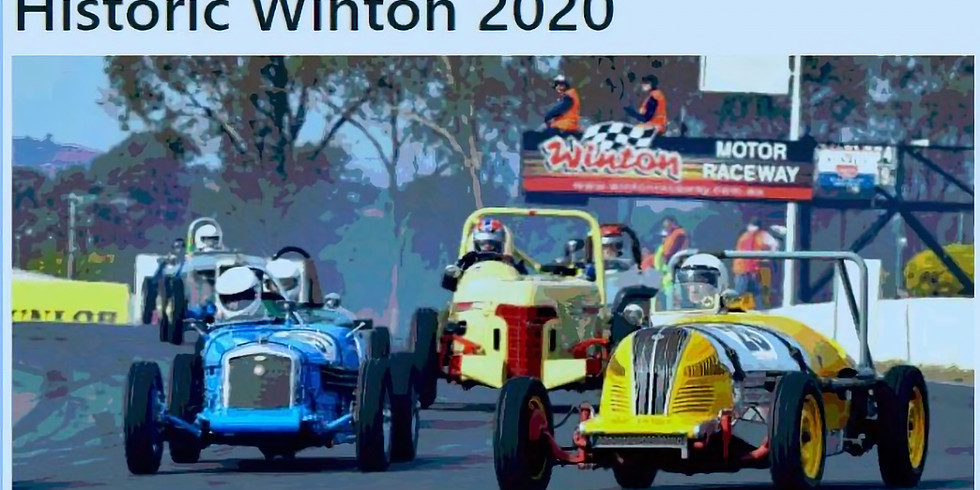 Historic Winton - 30 & 31 May CANCELLED