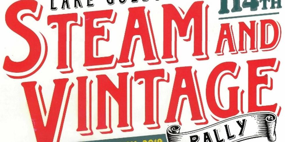 Lake Goldsmith Steam & Vintage Car Rally -3rd November