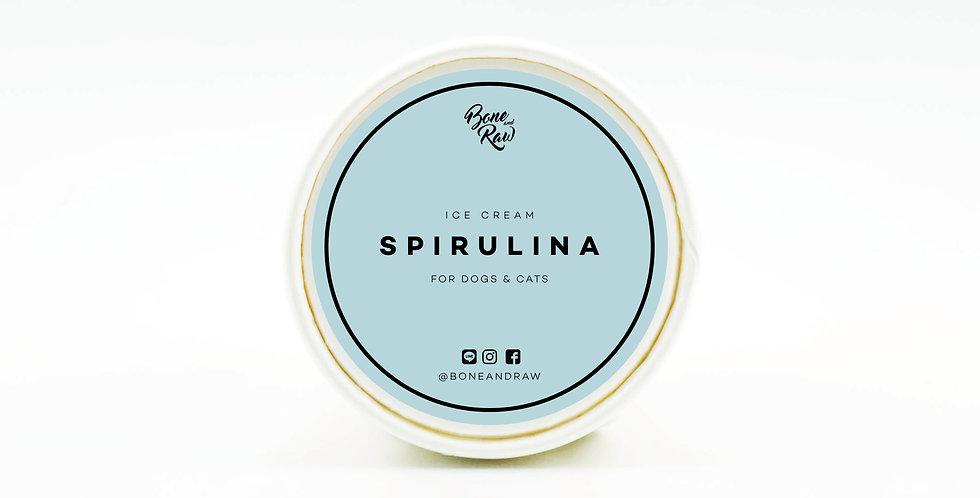Spirulina - Ice Cream   ไอศครีม รสสาหร่ายสไปรูลิน่า