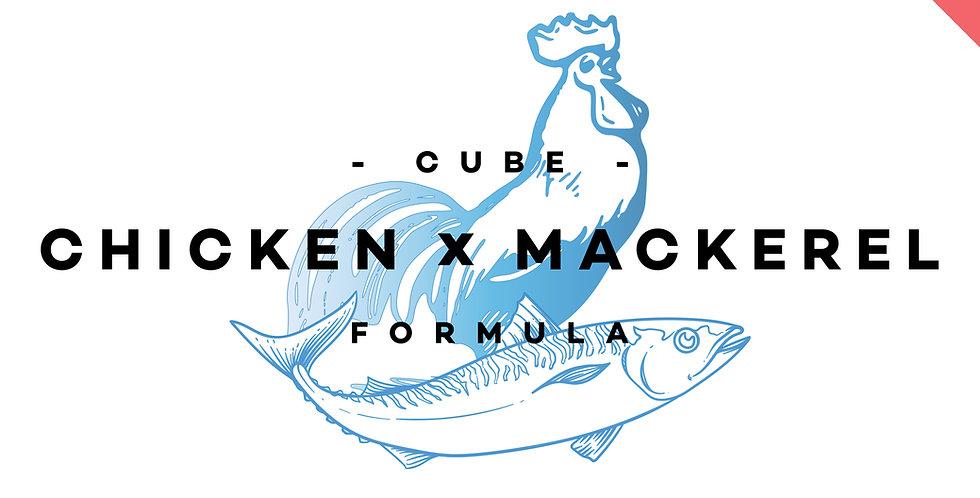 CUBE! - Chicken x Mackerel Formula (Carnivore)