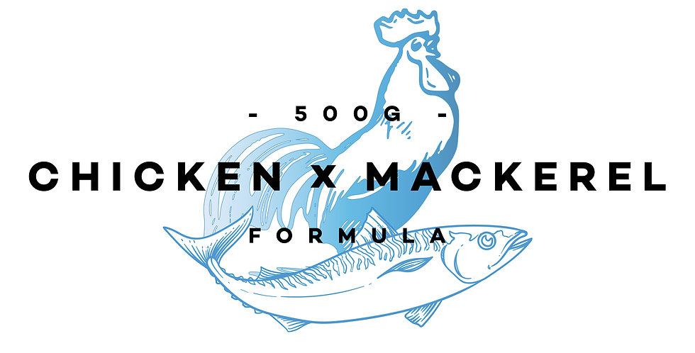 500g - Chicken x Mackerel Formula (Carnivore)