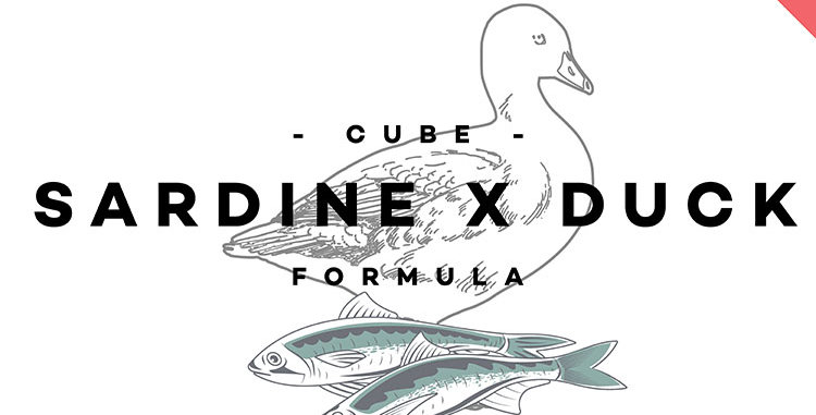 CUBE - Sardine x Duck Formula