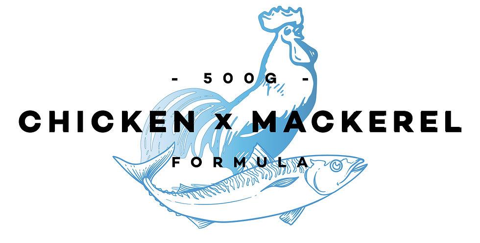 500g - Chicken x Mackerel Formula