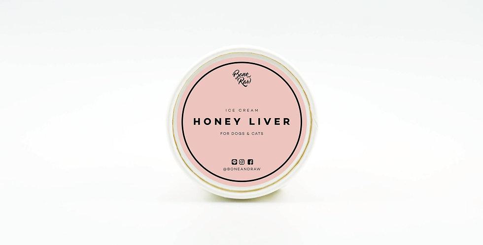 Honey Liver - Ice Cream   ไอศครีม รสตับน้ำผึ้ง