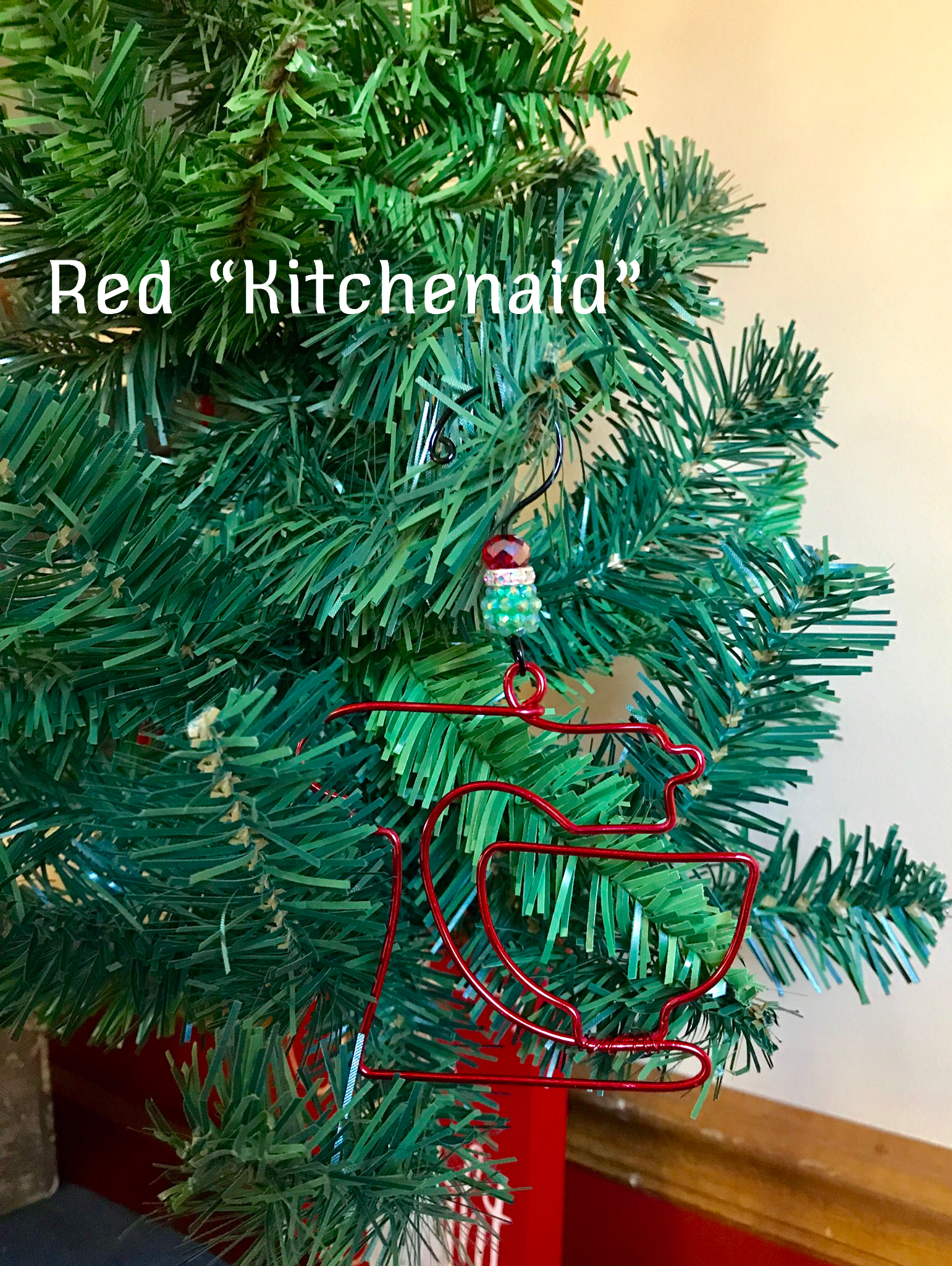 Red Kitchenaid