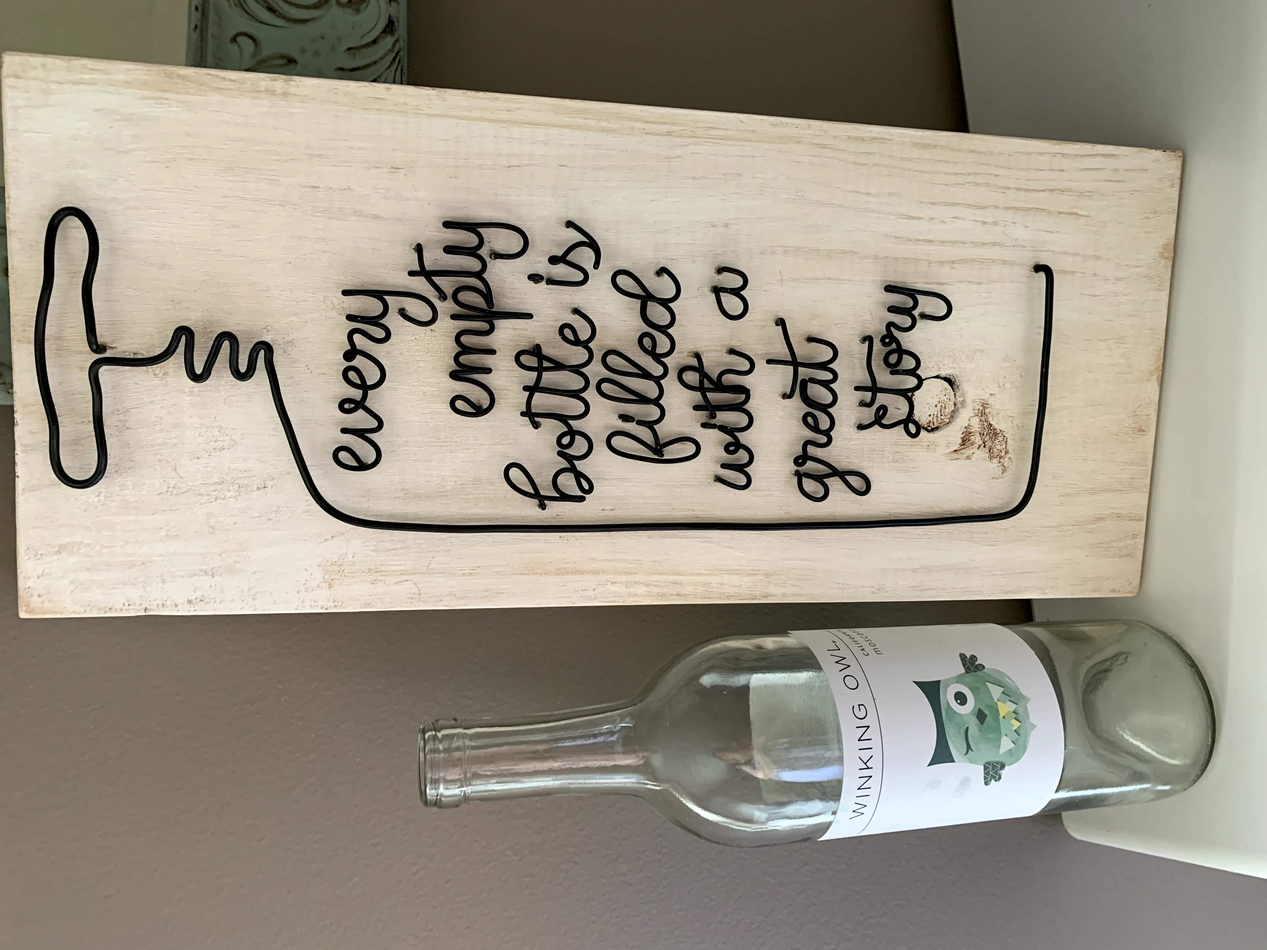 Every empty bottle...