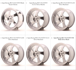 JR15 Wheels
