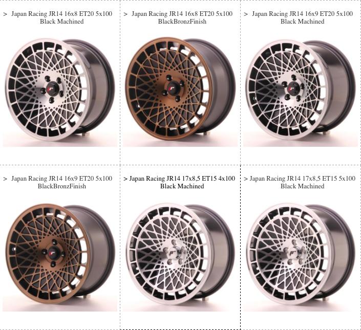 JR14 Wheels