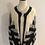 Thumbnail: Vintage retro angora wool cardigan