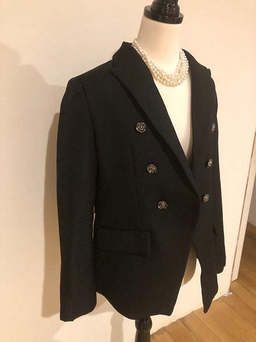 Designer brand new black blazer