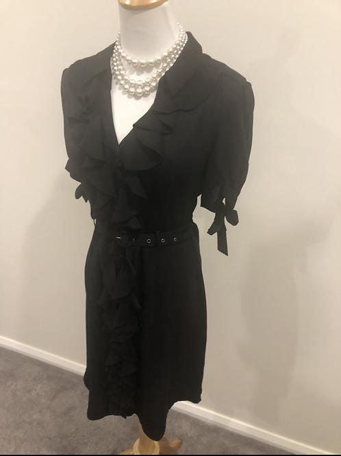 Katherine designer silk1940's style frock