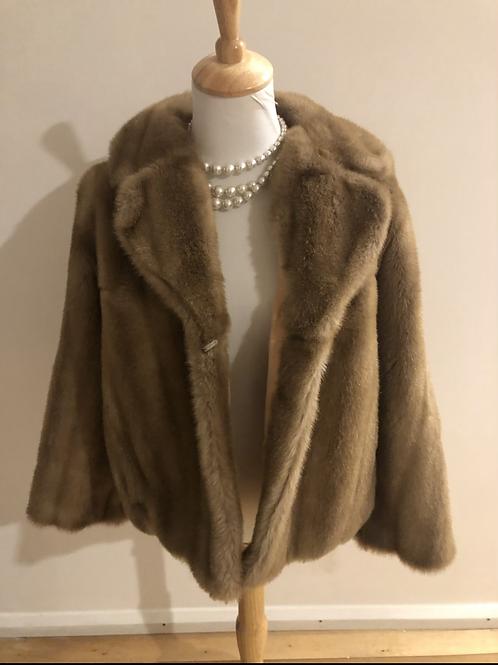 Vntagw 1960's faux fur