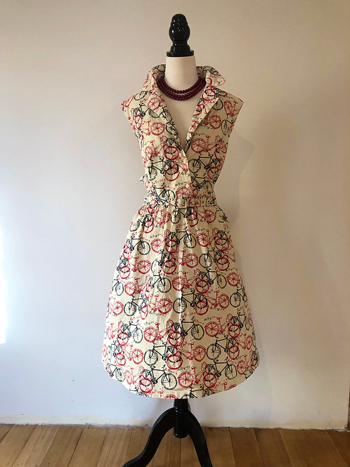 Lindy bop London linen French print frock