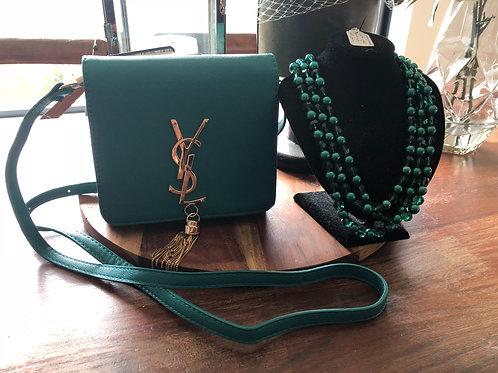 Teal handbag brand new 💚