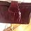 Thumbnail: Vintage 1970's leather eel leather bag