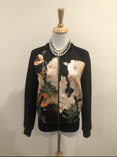 Ted baker designer spring light wool Bomber jacket
