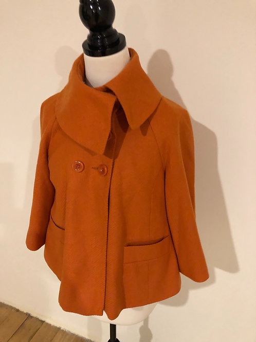 Cue wool cute driving 1950's style jacket