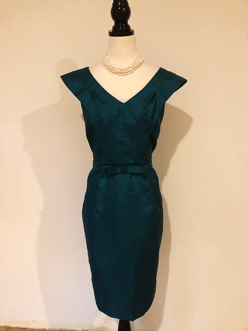 Mulberry street vintage silk frock