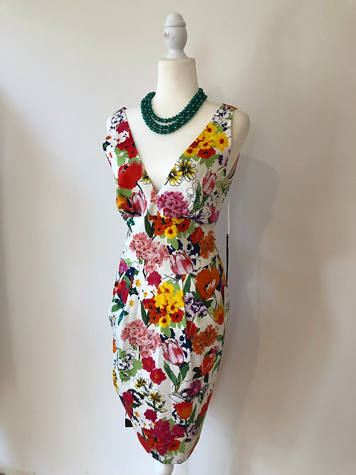 Brand new Moschino Italian floral frock